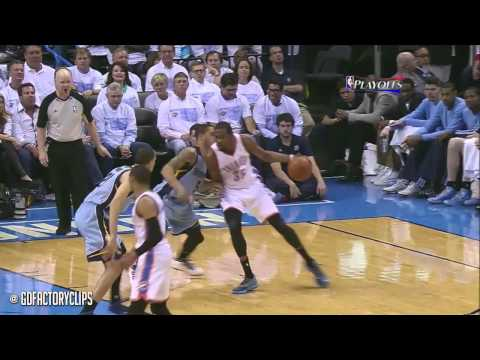 Kevin Durant Full Highlights vs Grizzlies 2014 Playoffs West R1G5 - 26 Pts