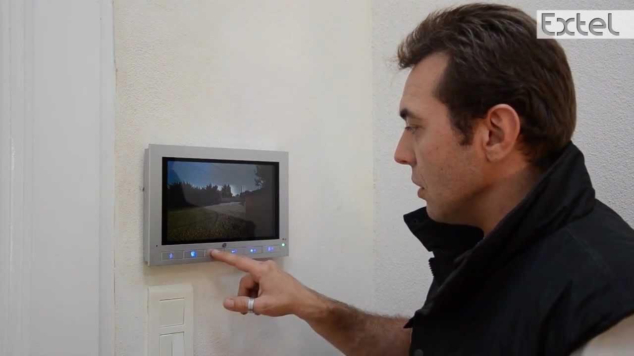 wevp256 installation du visiophone extel youtube. Black Bedroom Furniture Sets. Home Design Ideas