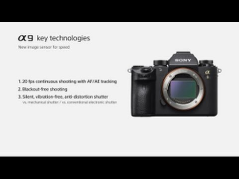 Sony a9 Full-Frame Mirrorless Camera Body only