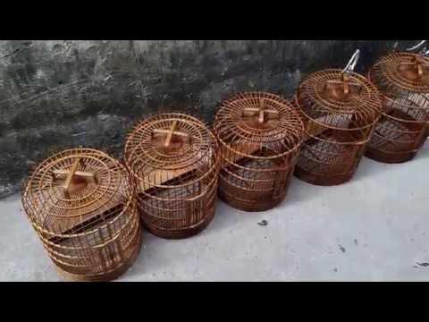 lồng chim họa mi thổ cao bằng gác bếp đẹp sđt 0944114410 ( Chim Cảnh Đất Việt )