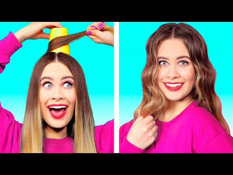 10 FUNNY BEAUTY LIFEHACKS | Beauty Hacks To Speed up Your Daily Routine by Ideas 4 Fun