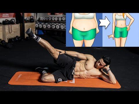 Taille fine et fesses galbées 10 minutes exercices ! (sans matériel)