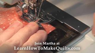 How To Make A Quilt Step 3 Sewing Your Blocks Together