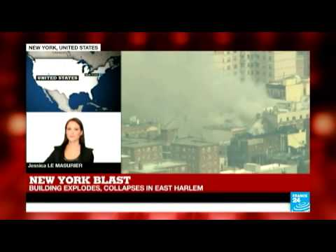 Deadly explosion levels New York buildings