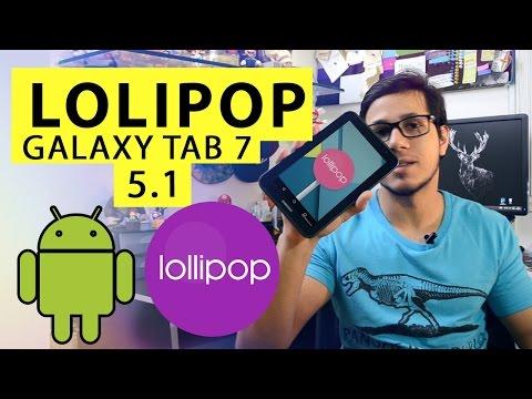 Como atualizar Tablet  Galaxy Tab 2 7.0 para Lolipop 5.1  [Pt-BR]