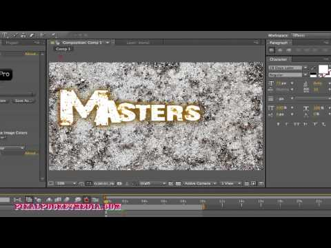 After Effects CS5 Tutorial: Getting Started