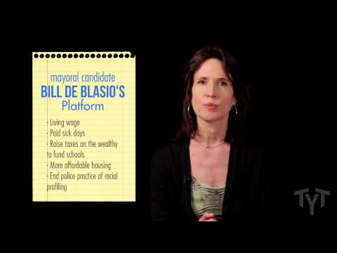 The Future of the Democratic Party? Bill de Blasio's Campaign for NYC Mayor - Katrina vanden Heuvel