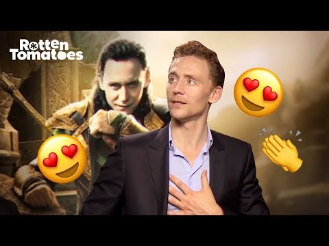 Tom Hiddleston Sweeps His Fans off Their Feet