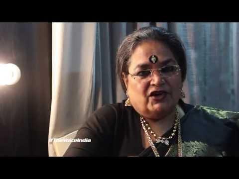 Versatile Singer Usha Uthup on The Voice India