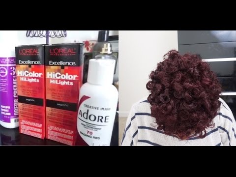 How To Color Natural Hair | No Bleaching