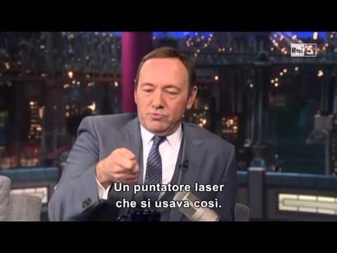 Кевин Спейси в шоуто на Летерман