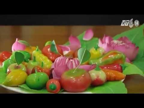 Bánh trái cây đậu xanh - món quà tết phương Nam
