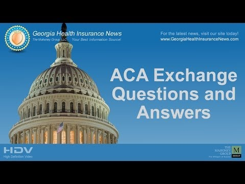 Georgia Health Insurance ACA Exchange Questions & Answers