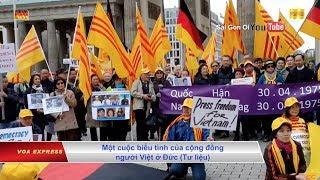 Người Việt tại Đức biểu tình phản đối vụ Trịnh Xuân Thanh