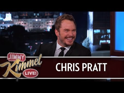 Chris Pratt on Jimmy Kimmel Live PART 1