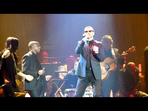 Amazing, I'm your man & Freedom 90' medley @ Symphonica Tour - Herning, Denmark 2. September 2011
