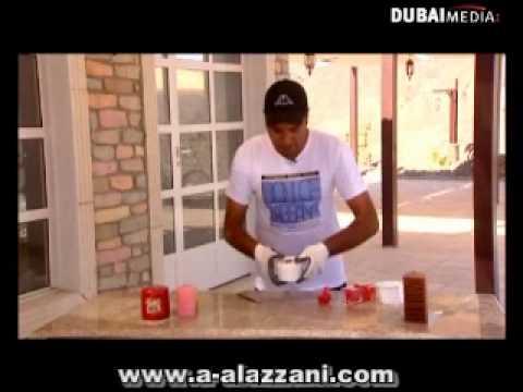 احمد العزاني كيف تصنع قوالب الشموع wmv