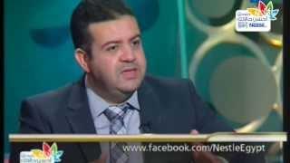 د/ أحمد بيبرس عن مقدار الحصة و ارشادات الاستهلاك اليومي