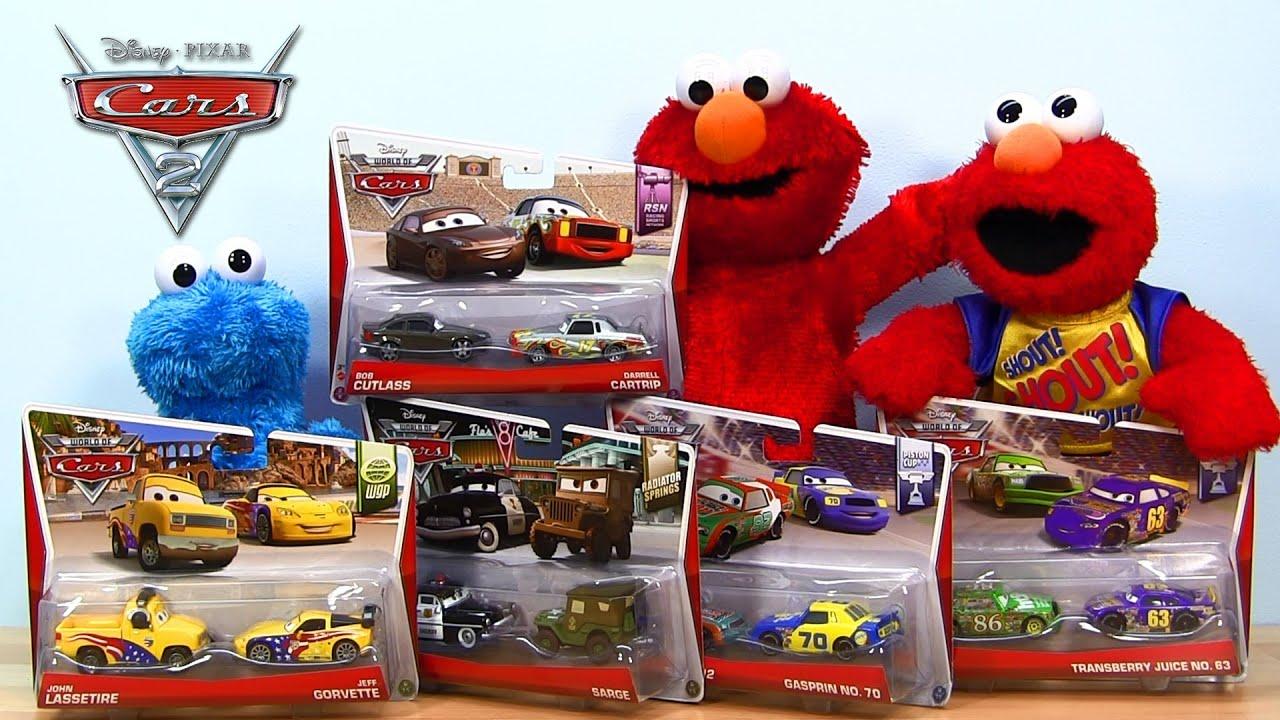 Disney Cars Toys Youtube: 2014 Disney Pixar Cars Movie Moments 2-Packs Mattel