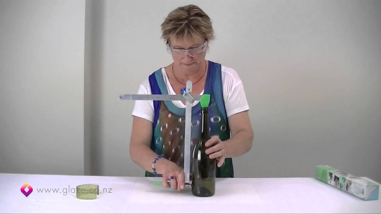 Glass bottle cutter how to cut glass bottles part 1 for Generation green bottle cutter