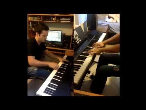 Castle Theme (Super Mario World) Dual Piano Cover by Soupo