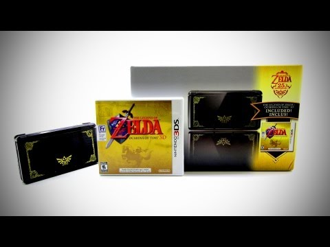 Nintendo 3DS Special Zelda Edition Unboxing