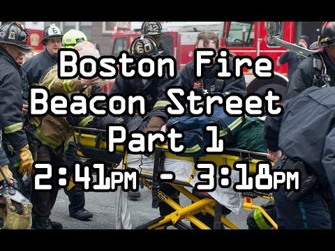 Audio and Maydays: 9-alarm Boston fire
