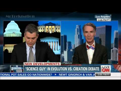 Bill Nye - Talks About Upcoming Debate Creationism Vs. Evolution - CNN