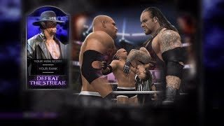 WWE 2K14 DEFEAT THE STREAK GOLDBERG