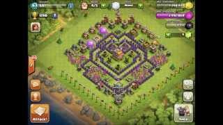 Clash Of Clans Top 5 TH7 Trophy Bases!