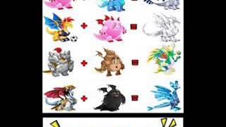 Combinações De Dragões Raros E Lendarios