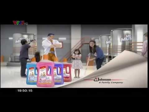 Quảng cáo nước lau sàn MrMuscle [HD]