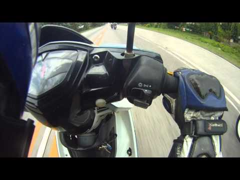 8/21/11: Raider Suzuki FU 150 Belang backride vs sniper lc135 waswas to tboli