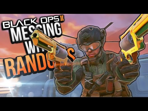 Black Ops 2 Messing with Randoms #27! (Weed Kid, Expert Troll, Uncensored Chaos)