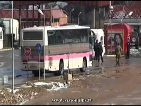 Bllokohen  autobusët shqiptare ne Kosove - Vizion Plus - News - Lajme