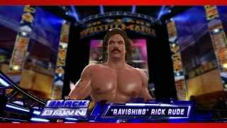 """Ravishing"" Rick Rude WWE 2K14 Entrance And Finisher"
