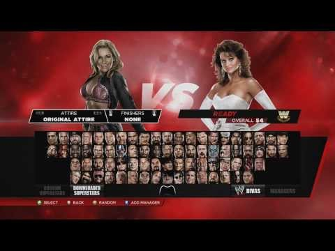 WWE 2K14: Play as NPC Manager Glitch