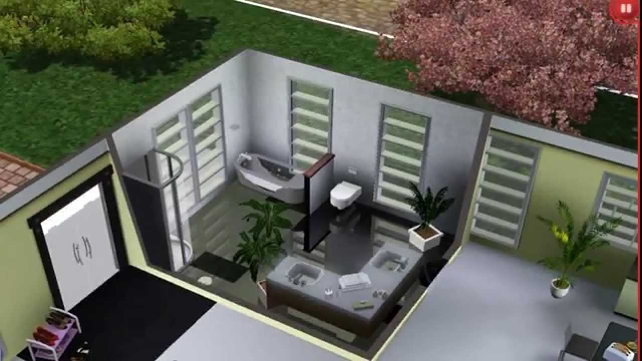 Sims 3 modernes haus hd youtube for Modernes haus sims