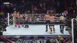 Sin Cara & Los Matadores Vs 3MB WWE Superstars 1/23/14