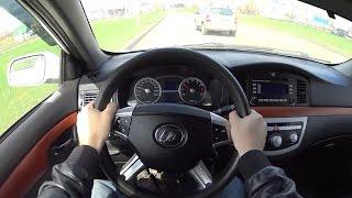 2012 Lifan Solano 620 POV Test Drive. MegaRetr