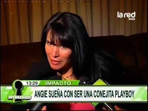 Angie Alvarado sueña con ser conejita Playboy