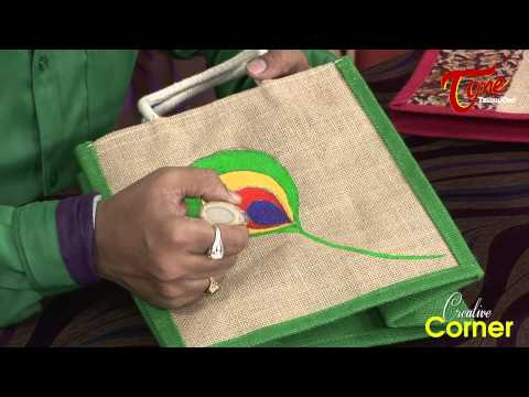 How To Paint Beautiful Designs on Jute Bags Photos,How To Paint Beautiful Designs on Jute Bags Images,How To Paint Beautiful Designs on Jute Bags Pics