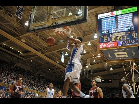 Top Plays- Duke 66, VA Tech 48