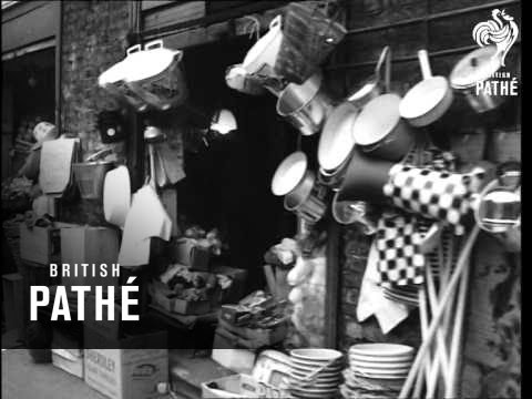 East End Market & Some Shops  (1960-1969)