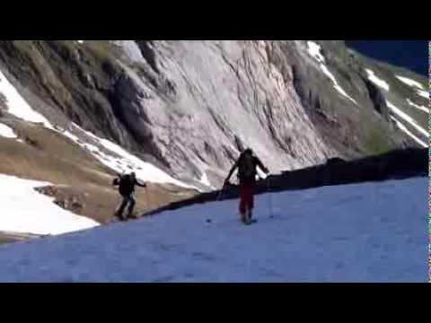 Ascensión y descenso con esquís del Pico Tormacal / Soum de Port Bieil y Pic de Gabiedou