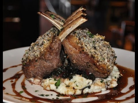 Rack of Lamb with Juniper Berry crust recipe and cooking demonstration