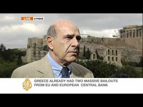 Andrew Simmons reports on the Greek debt crisis