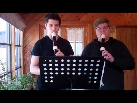 Rudimentary Duets for Two Recorders, Mvt. III