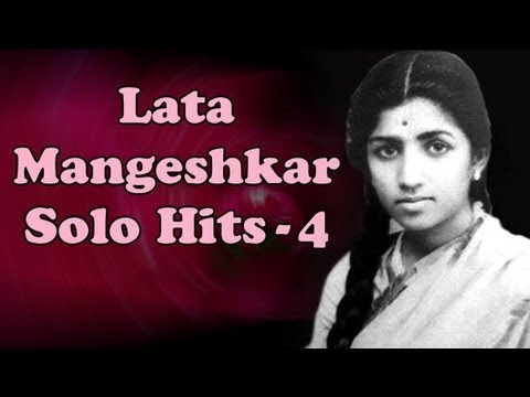 Best of Lata Mangeshkar Solo Superhit Songs - Vol 4 - Evening With Lata Mangeshkar