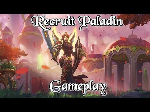 [Legend] Gameplay: Recruit Paladin Kobolds And Catacombs (Hearthstone Guide How to Play)